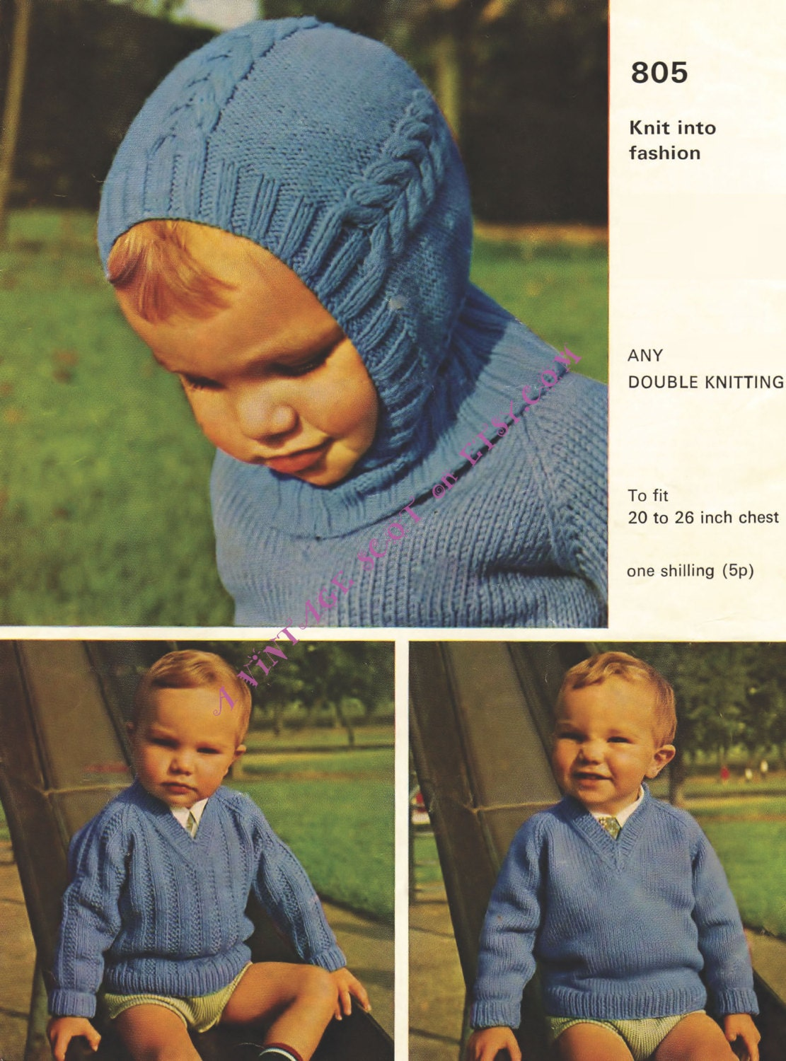 Balaclava pattern baby helmet pattern vintage knit child knit this is a digital file bankloansurffo Images