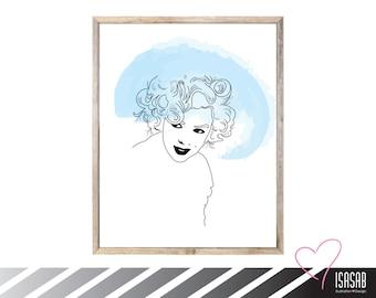 PRINTABLE / Marilyn