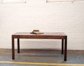 FREE SHIPPING Modern Parsons Dining Table