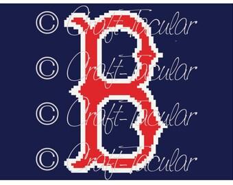 Boston Red Sox Crochet Graphgan Graph Pattern (C2C)