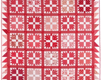 Bear's Paw Quilt Pattern PDF by Emma Jean Jansen - Immediate Download