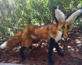 Red Fox Posable Art Doll