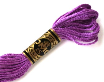 DMC 553 Floss - 6 Strand Embroidery Floss - Violet