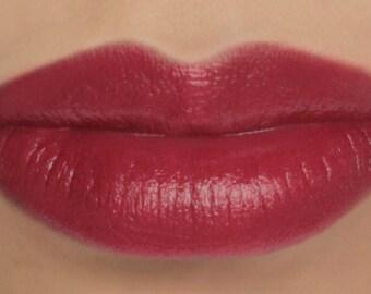 "Vegan Cream Blush and Lip Color Stick - ""Enchantress"" (pink toned red lipstick / cream blush)"