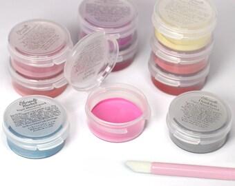 10 Piece Lipstick Sample Set with Optional Lip Applicators - choose your shades - Vegan Lipstick