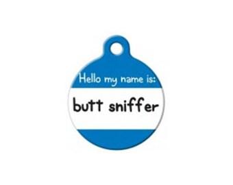 Pet ID Tag- Butt Sniffer