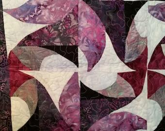 Purple Swirls Quilt