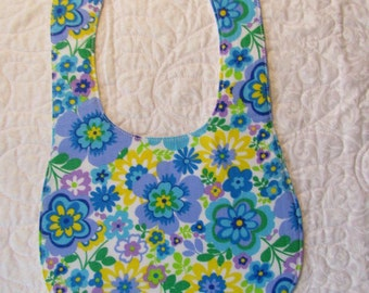 Floral Baby Bib Drooler - Marked Down