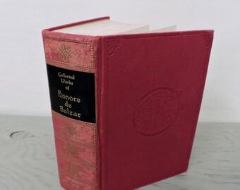 Antique French Literature - The Complete Novelettes of Honore De Balzac - 1926 - Classic Fiction - Short Stories