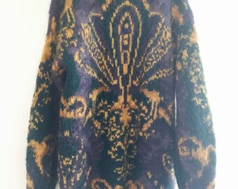 Oversized Chunky Boyfriend Sweater Vintage 90s
