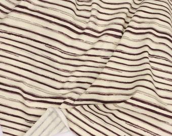 Charcoal Stripe Baby Blanket: Gender Neutral Grey Stripe || by JuteBaby