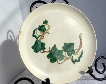 Ceramic Plate Vintage California Ivy Metlox Poppy Trail Luncheon Plate