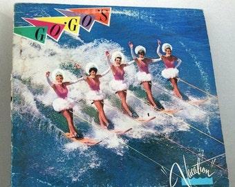 CIJ Sale Vintage Vinyl Record Go Gos  LP Album Vacation 1982