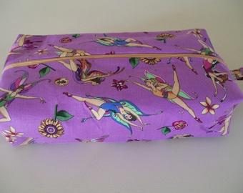Large knitting box bag- Fairies