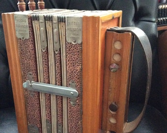 Regal Melodeon Accordion Antique Instrument Germany Musical