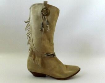 Fringe boots | Etsy