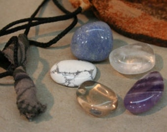 Serenity Peace Tranquility Crystal Stone Set