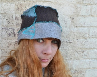 ON SALE Cashmere and Wool Hat - Women's Winter Hats - Wool and Cashmere Hats - Wool Hats