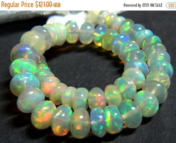20%off. AAA. Quality Natural Ethiopian Welo Fire Opal Smooth Beads,Fire Opal, Size of 4mm to 6mm Approx.Extreme Insane Fire