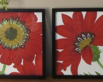 Big red flowers 20 % off sale limited time
