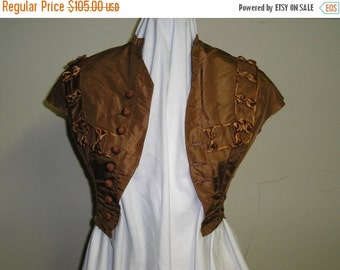 Christmas in Sept Sale Late 1860s bodice