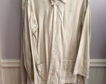 Old Man PJ's /Men's Vintage Pajamas / Theater Prop/ Costume / Movie Costume Shop / Vintage 1900's PJ's