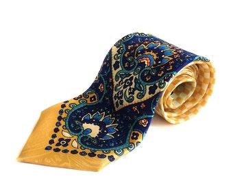 Printed necktie by Versace