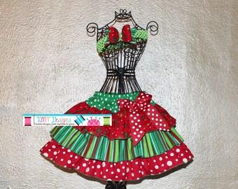 Christmas Skirt, Girls CHRISTMAS Skirt, Girls Christmas Skirt, Christmas Outfit, Girls Christmas Skirt, Ruffle Skirt, Christmas Ruffle Skirt