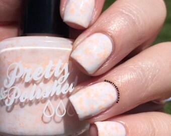 N Cream Glitter nail Polish
