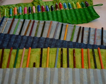 Blue or Green Pen Roll