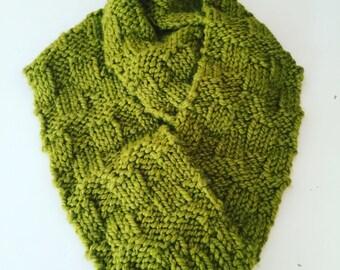 Basket-weave Long Scarf