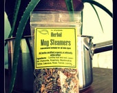 0.8 oz Herbal Mug Steamers, herbal facial steam, concentrated, certified organic