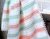 Baby Blanket Crochet Pattern, Crib Blanket, Baby Afghan Pattern