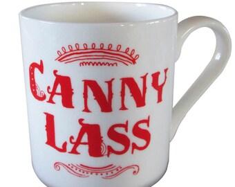 Canny Lass fine bone china mug