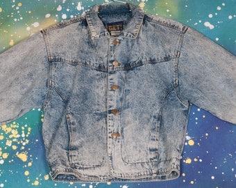 GET! 1980's Denim Jacket Size S