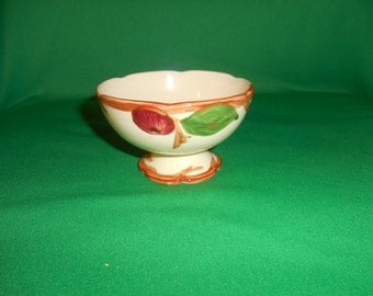 """One (1), 2 3/8"""" Sherbet Cup, from Franciscan, in the Apple Pattern."""