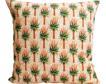 African Aloes cushion cover