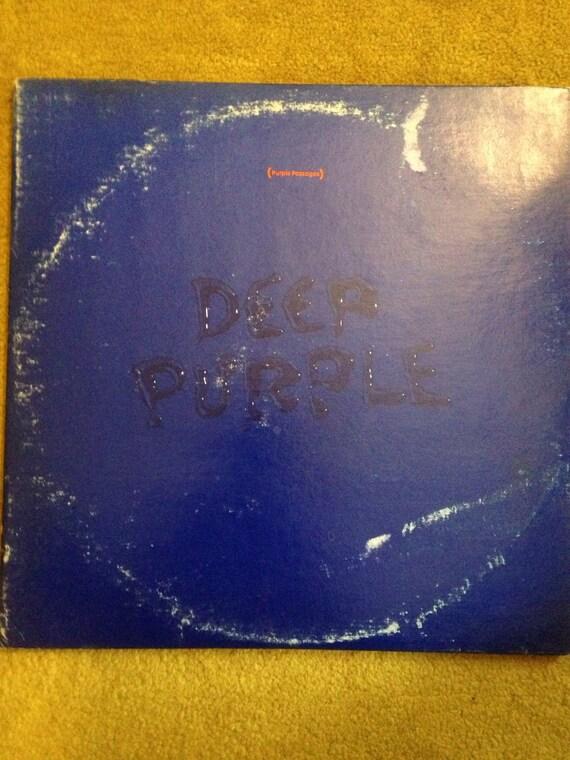 Deep Purple • Purple Passages • Vinyl • Record • LP 1972 Rock 2xL's