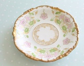 Antique Saucer by Jean Pouyat, Limoges, France, Collectible, Replacement China - ca. 1890 - 1932