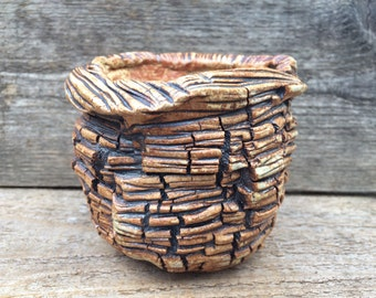 Handmade stoneware pottery #117