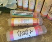 12 personalized tubes,LuLaRoe Lip Balm, Personalized,Lularoe Chapstick,stickers,Lularoe, Marketing, Promotional, Advertising, Business cards