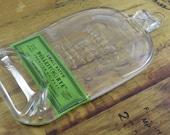 Flattened Bourbon Bottle - Bulleit Rye