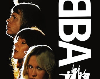 "ABBA ""The Movie"" Stand-Up Display - Gift Idea ABBA Band ABBA Collectibles Memorabilia Posters Celebrities Movies Pintrest Retro kiss76"