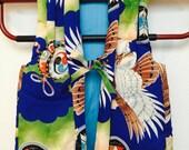 Antique Japanese Cotton Children's CHANCHANKO - padded cotton vest for boy