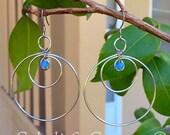 Custom Stainless Hoop Earrings-Reserved for Dianne.