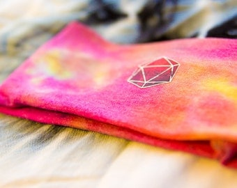 hand tie dyed odesza head band