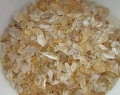 Small Citrine for Terrarium or Garden - Lot of Citrine Nugget Chips