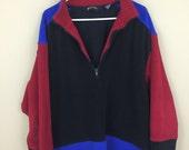 Vintage 1990s Eddie Bauer Quarter-zip Fleece