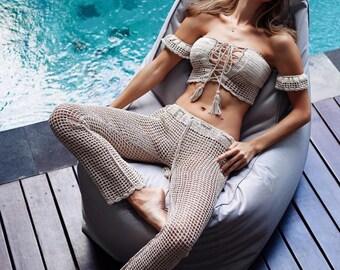 Crochet Top & Pants
