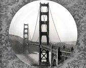 Golden Gate Bridge melamine plate